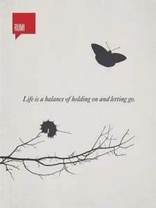 Rumi Quote - Balance
