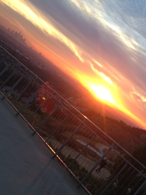 Baldwin Hills Sunrise